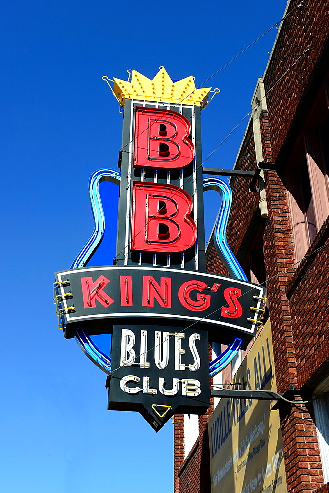 B B King Beale Street Blues Music Memphis Tennessee TN