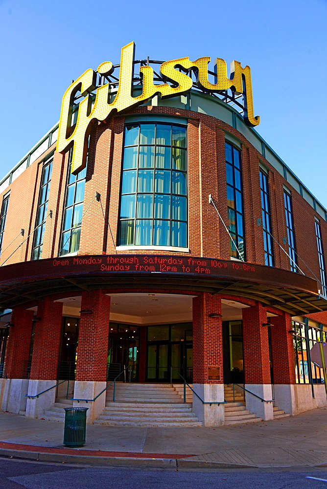 Gibson Guitar Factory Store Memphis Tennessee TN