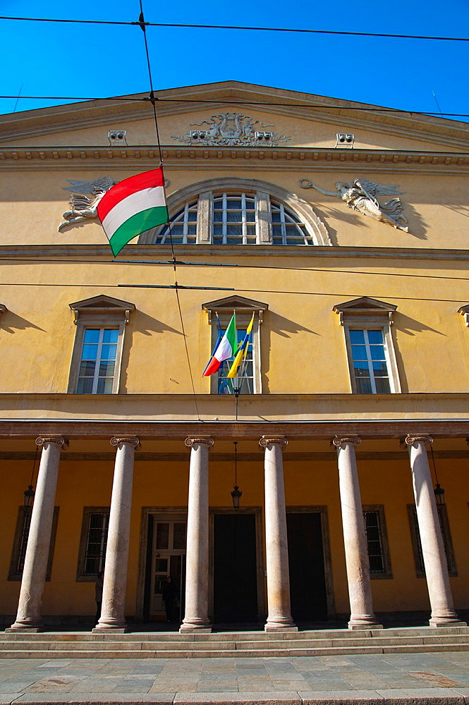 Teatro Regio opera house central Parma city Emilia-Romagna region central Italy Europe
