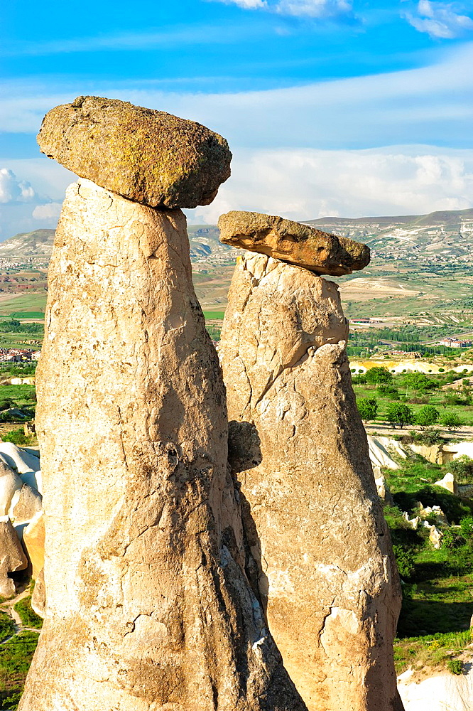 Urgup, Rock formation, Fairy Chimneys, National Park, Cappadocia, Anatolia, Turkey, Unesco World Heritage Site