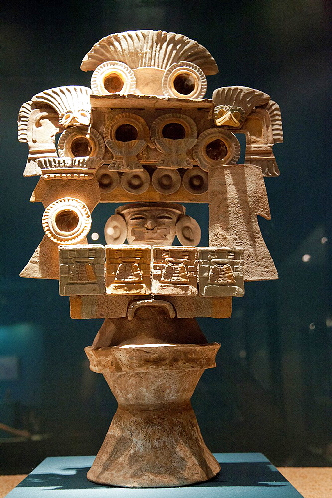 Museo De Sitio, Teotihuacan Museum in Mexico, Incense Brazier