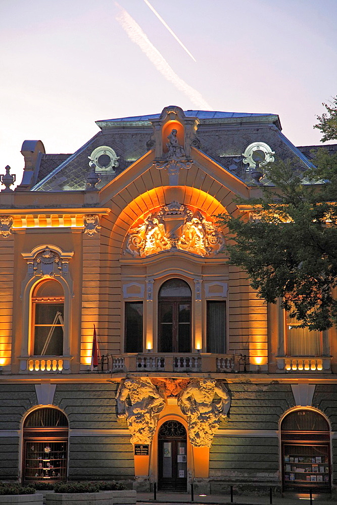 Serbia, Vojvodina, Subotica, City Library,