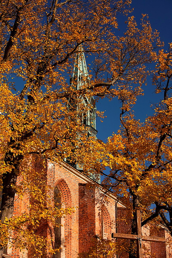 An old polish historic town Sandomierz The Cathedral