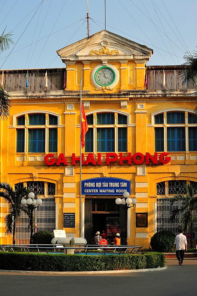 Railway Station, Haiphong, Vietnam