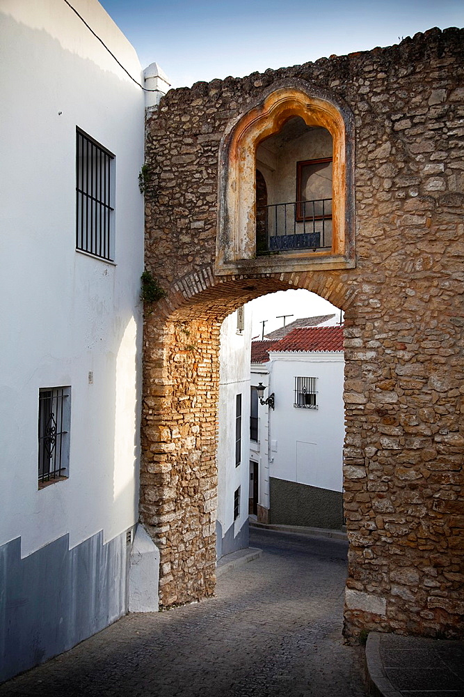 Interior of the Belen Arc or Belen Door  Medina Sidonia, Cadiz, Spain, Europe