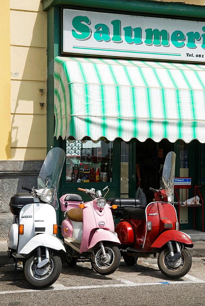 Posilippo district, Naples, Campania region, southern Italy, Europe