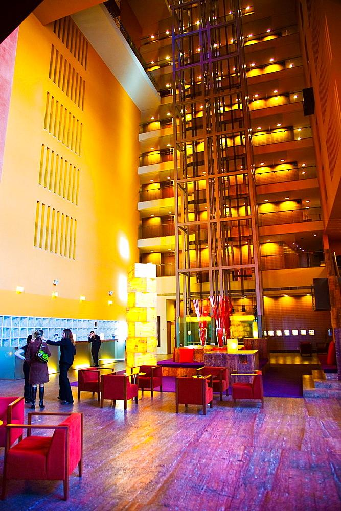 Melia Hotel Bilbao Vizcaya, Bizkaia, Euskadi, Pais Vasco, Basque Country Spain.