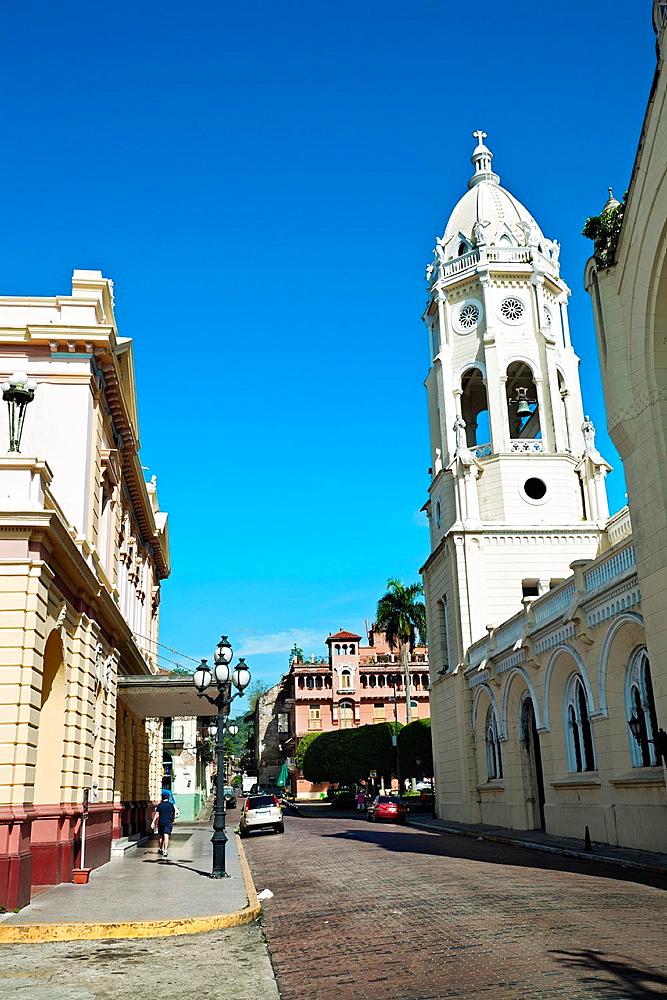 Street, Old quarter, Panama City Panama