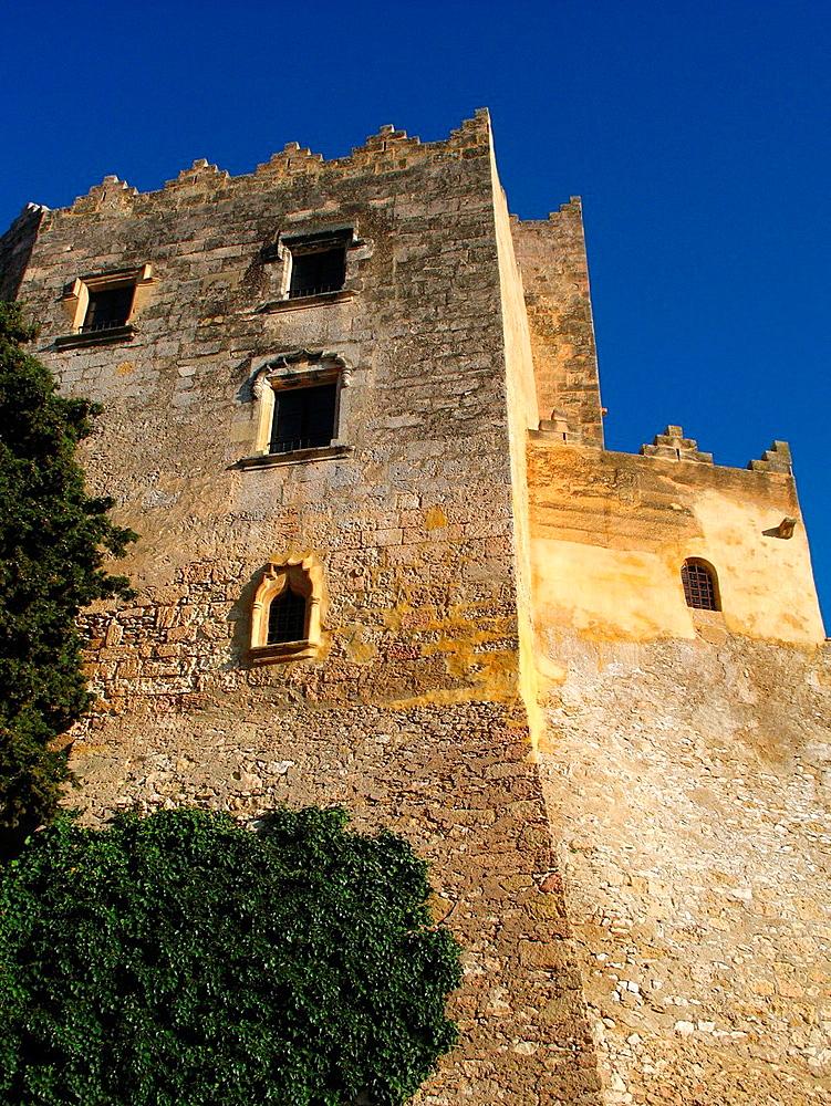 Castle Altafulla, Tarragona, Spain.