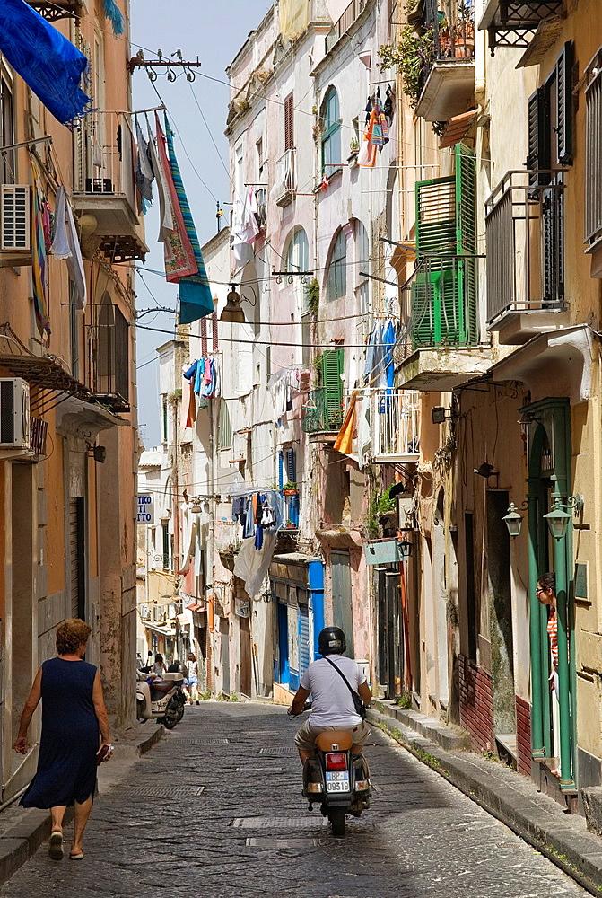 Procida island, Campania region, southern Italyy, Europe