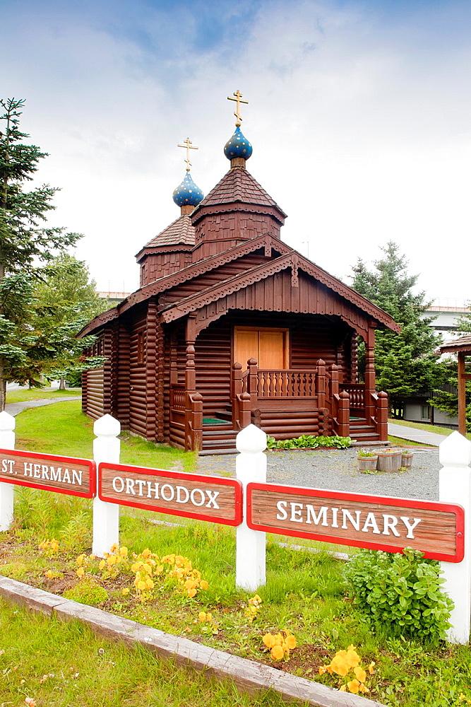 St Herman's Orthodox Seminar, Kodiak Island, Alaska, USA