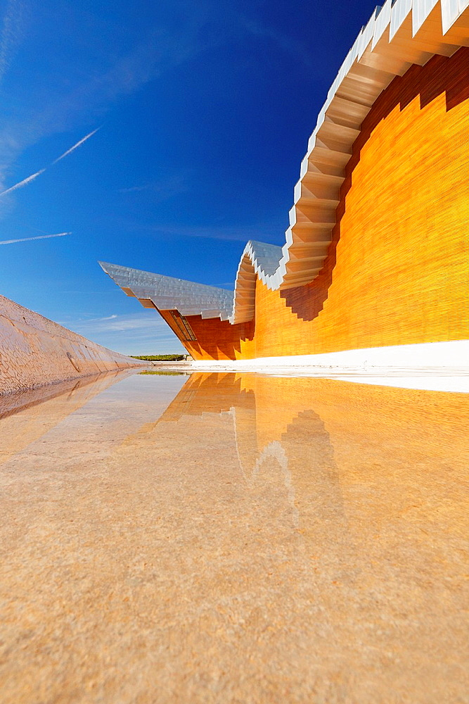 Ysios winery by architect Santiago Calatrava Laguardia Rioja alavesa wine route Alava Basque country Spain