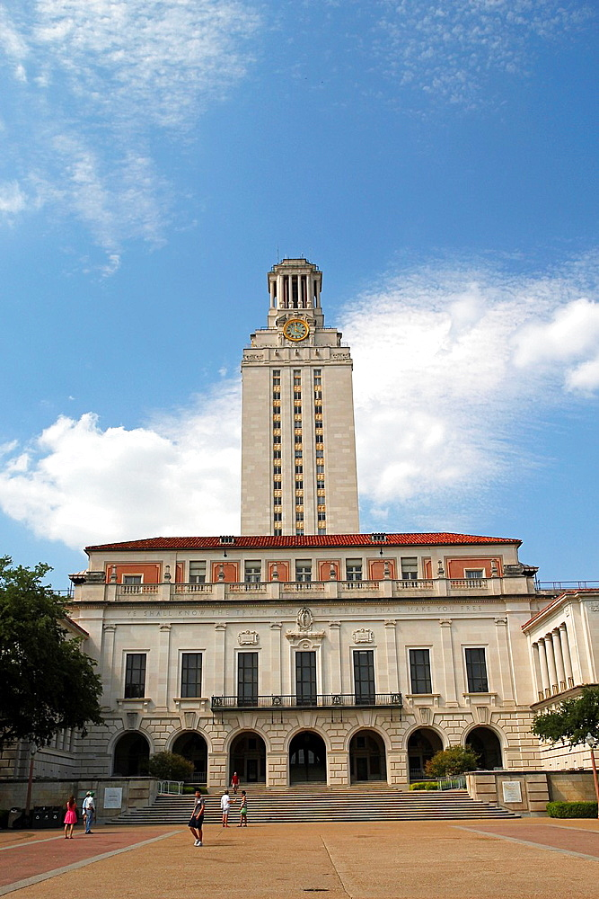 The Main Building, University of Texas, Austin