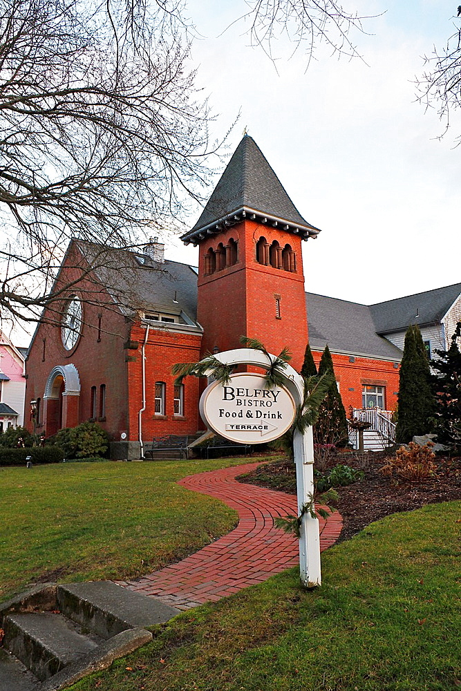 The Belfry Bistro, Sandwich, Cape Cod, Massachusetts