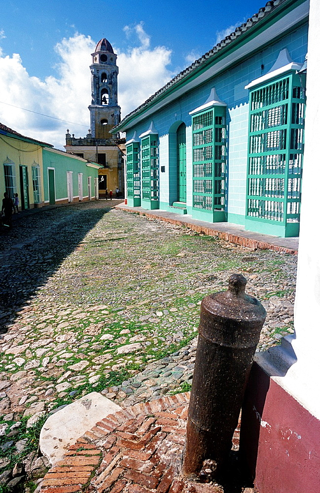 Bell tower of the Convent of Saint Francis, Trinidad, Cuba, Greater Antilles