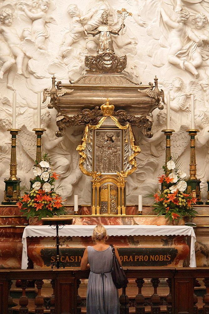 The Cathedral of Vilnius  Chapel of Saint Casimir with his sarcophagus