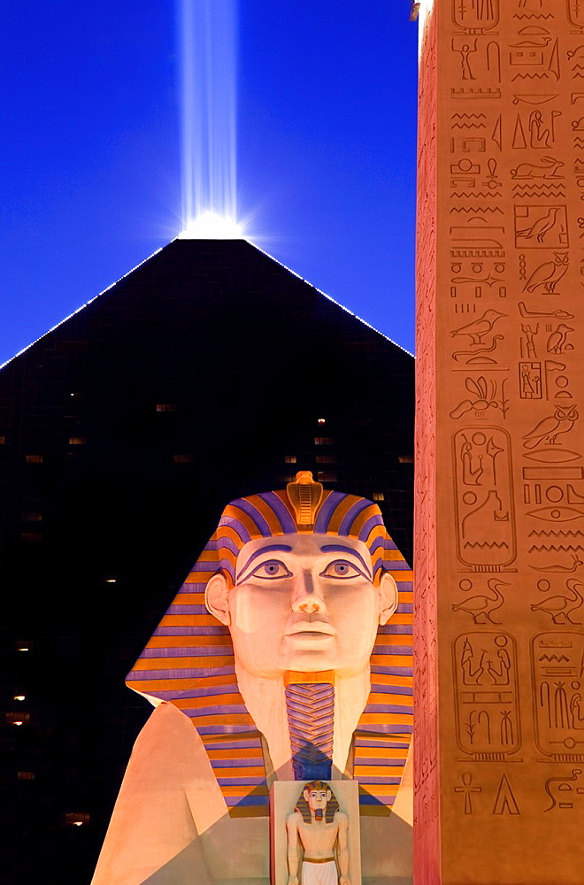 The Luxor Hotel and Casino, Las Vegas