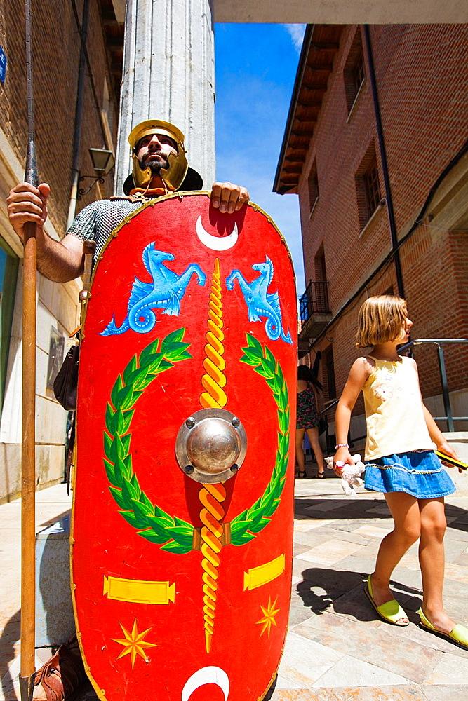 Roman Week, Olmeda Villa Saldana Palencia Castilla y Leon Spain.