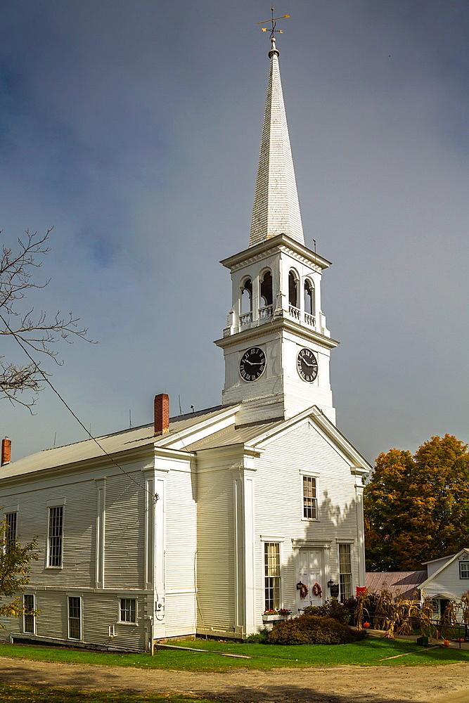 The Congregational Church of Peacham, Vermont, USA