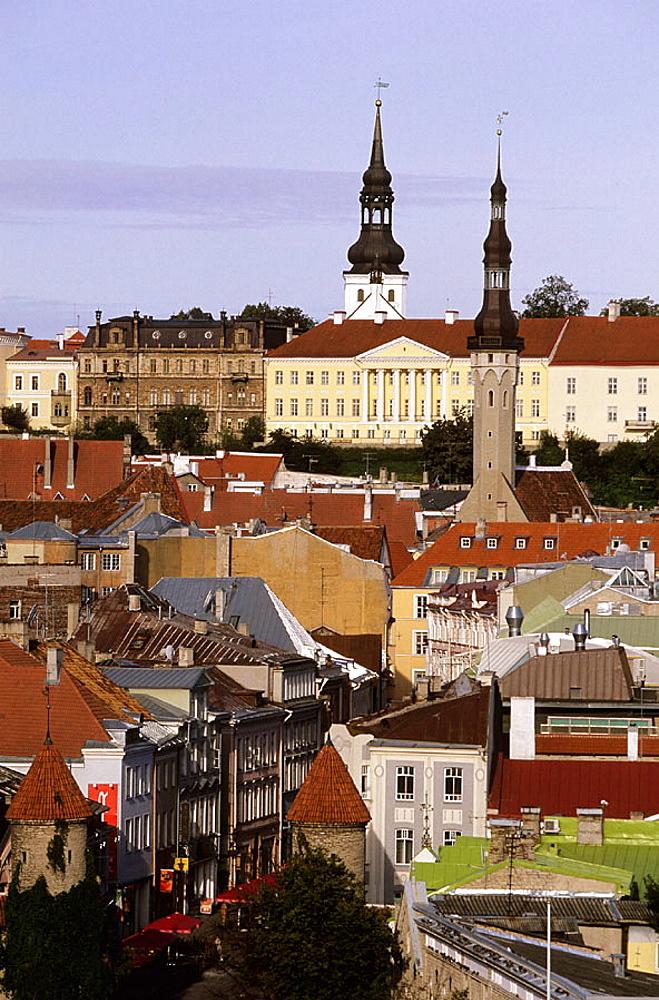St, Nicholas church, Toompea, Old town, Tallinn, Estonia. - 817-42640