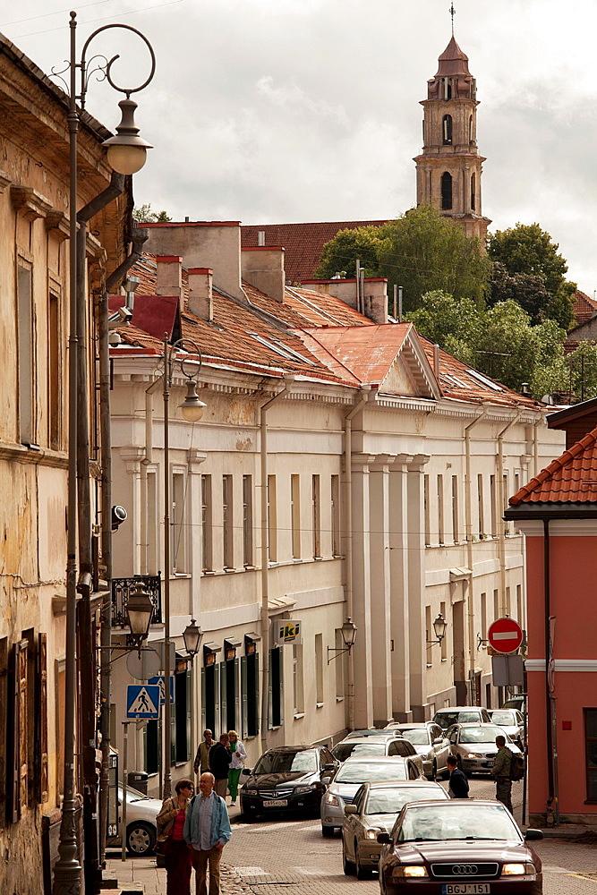 Vilnius The artist district Uzupis