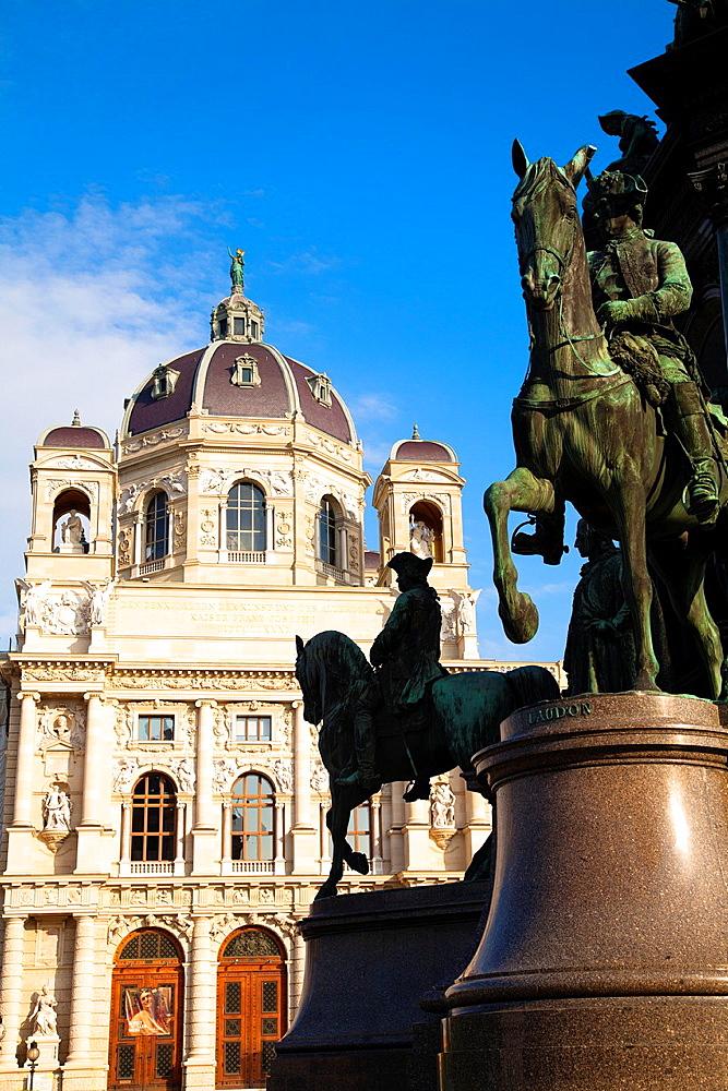 Kunsthistorisches Museum, Museum of Art History, Ringstrasse, Vienna, Austria, Europe