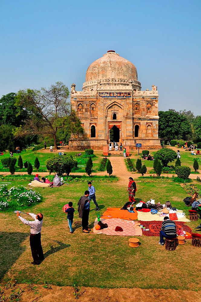 Lodhi garden in New Delhi