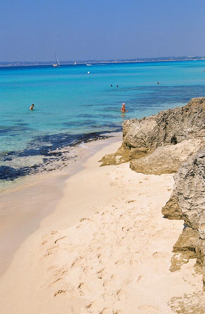 Playa de Migjorn Formentera