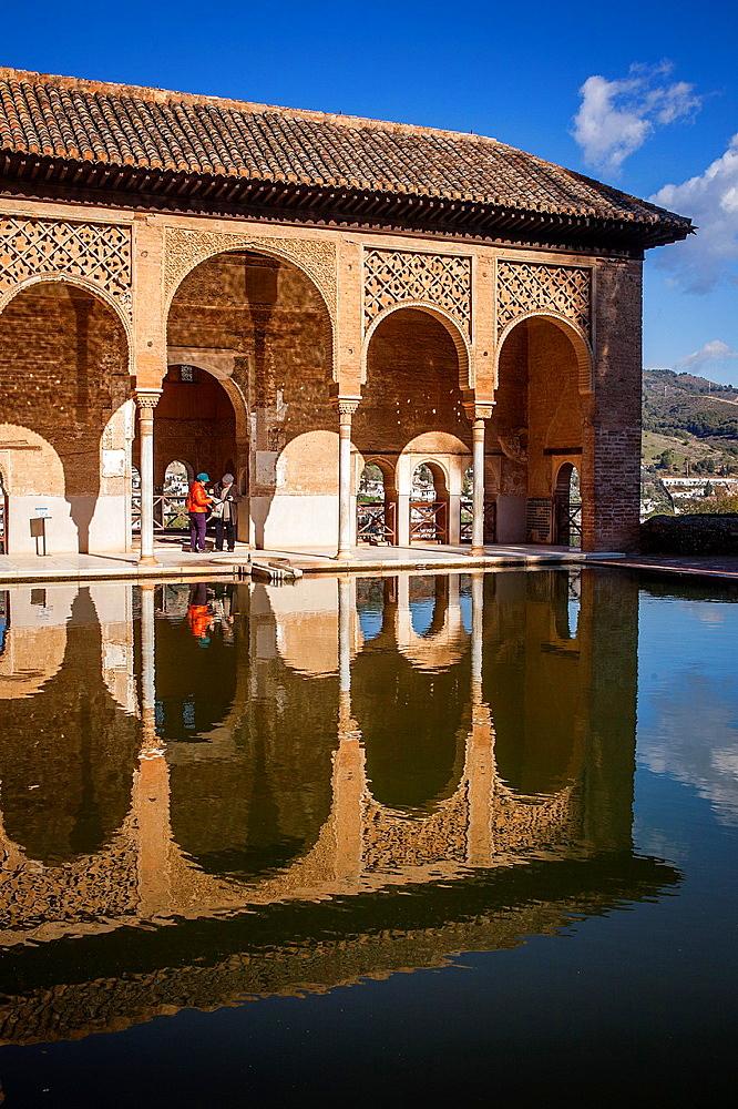 Partal,Torre de las Damas, Alhambra, Granada, Andalucia, Spain