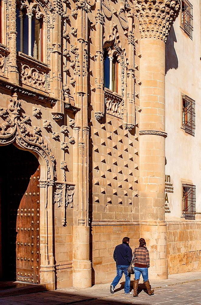 Palacio de Jabalquinto 16th century, Baeza Jaen province, Andalusia, Spain
