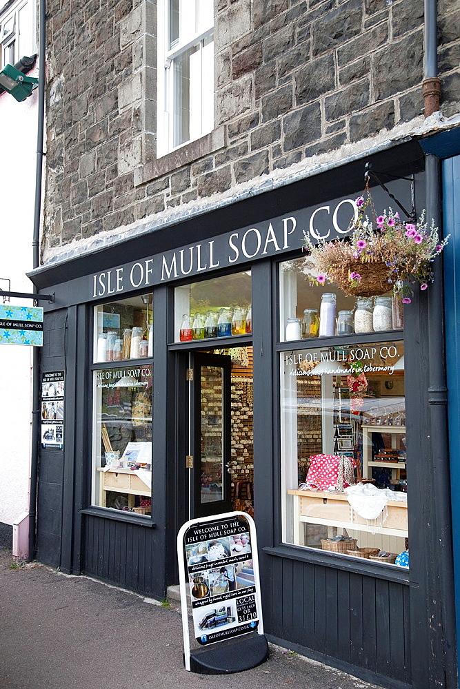 Isle of Mull Soap Company, Tobermory, Scotland