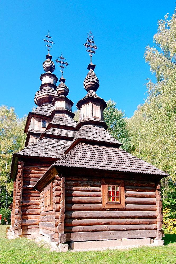 old wooden Christian church, Lviv, Ukraine, Eastern Europe