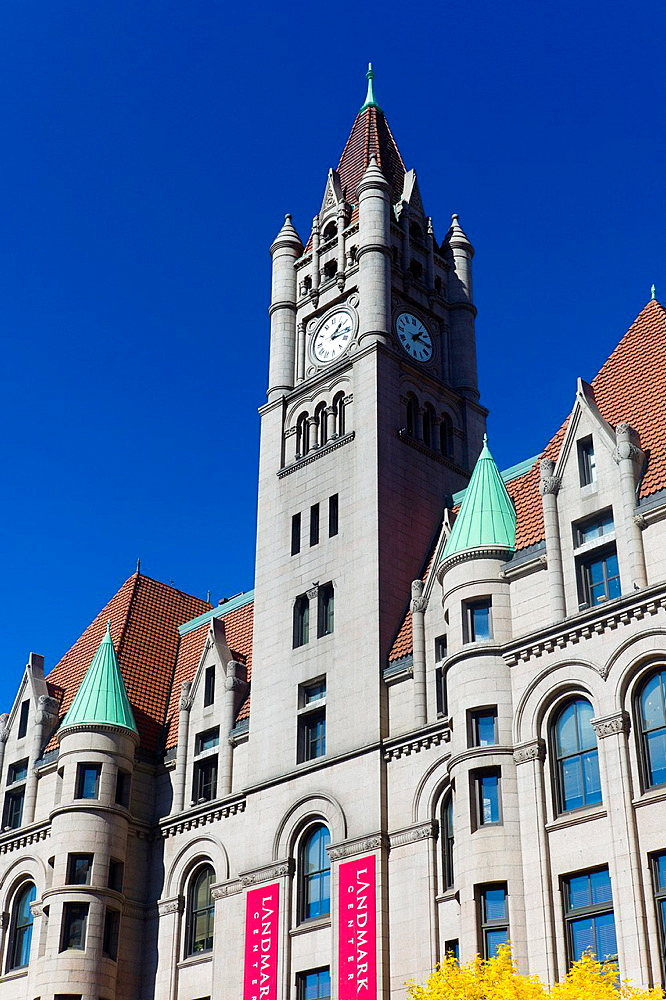 USA, Minnesota, Minneapolis, St  Paul, Landmark Center, former Federal Court Building, built in 1902