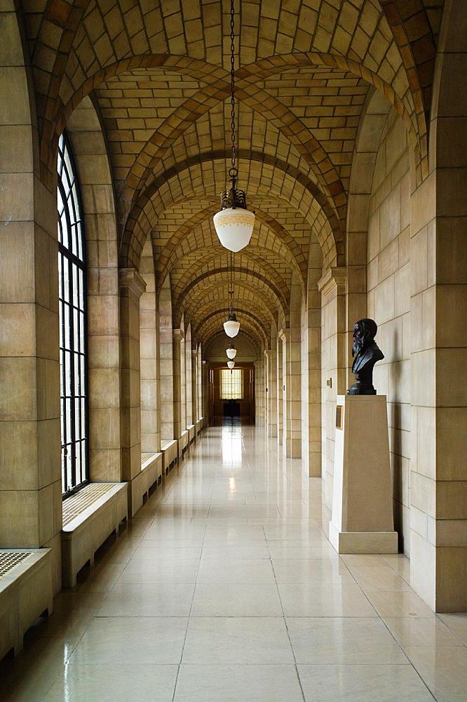 USA, Nebraska, Lincoln, Nebraska State Capitol, interior