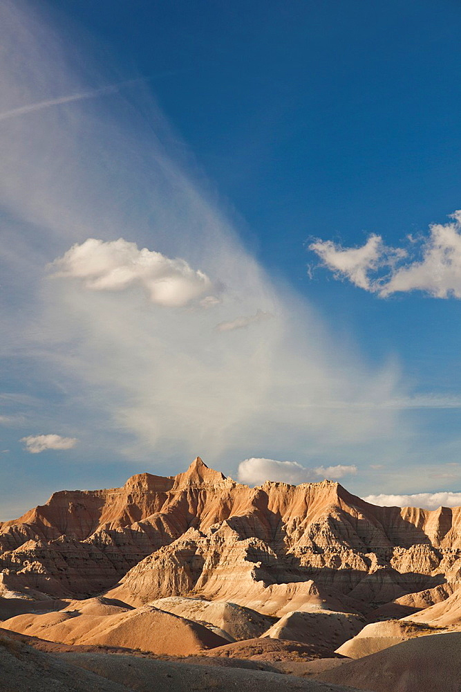 USA, South Dakota, Interior, Badlands National Park