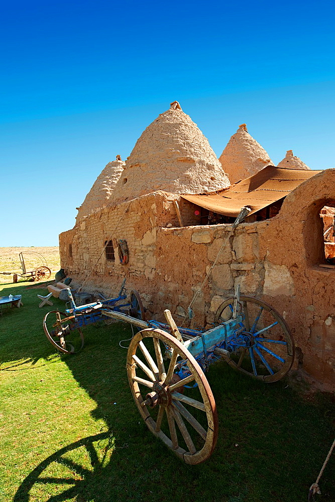 Pictures of the beehive adobe buildings of Harran, south west Anatolia, Turkey Harran was a major ancient city in Upper Mesopotamia, Turkey, The location is in a district of urfa Province that is also named 'Harran' Harran is famous for its traditional 'beehive' adobe houses, constructed entirely without wood The design of these makes them cool inside 7