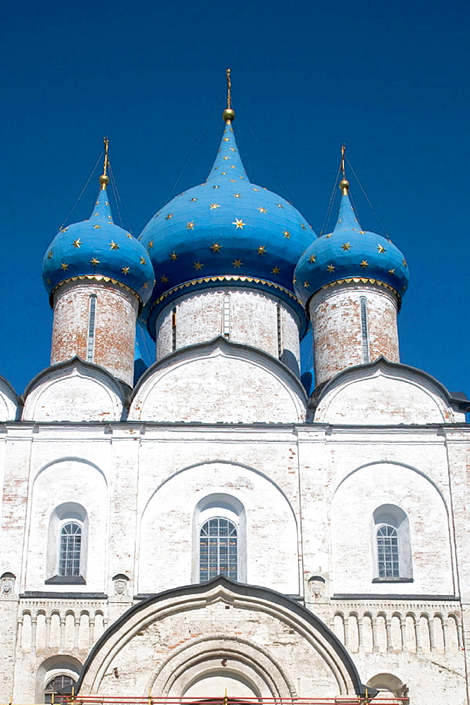 Cathedral of the Nativity (13th-16th century) in the Kremlin, Suzdal, Golden Ring, Russia