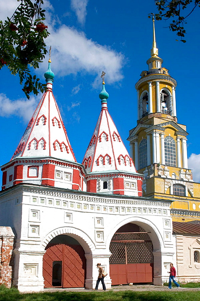 Monastery of the Deposition of the Holy Robe founded in 1207, Suzdal, Golden Ring, Russia