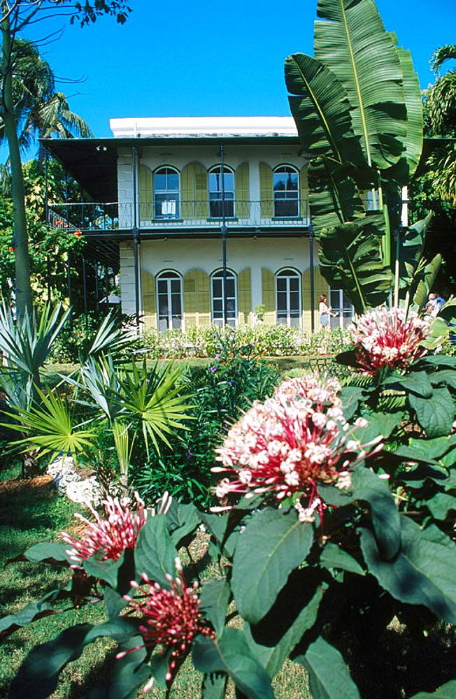 Ernest Hemingway home and museum, Key West, Florida, USA
