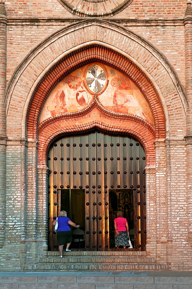 Church of Santo Domingo de Guzman -16th century, Doorway, Lepe, Huelva-province, Spain