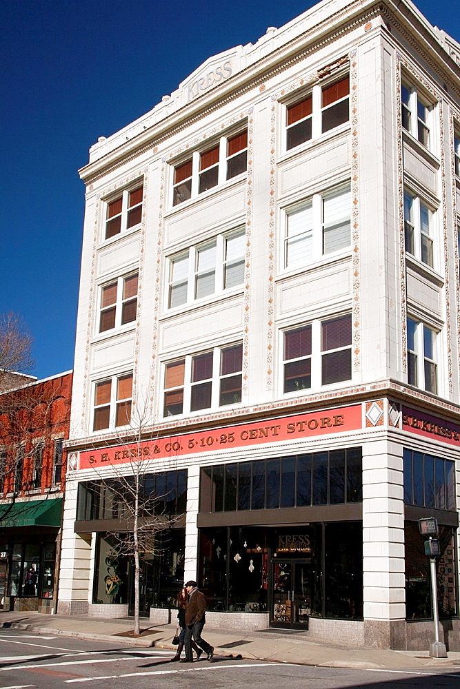 Kress Building in Downtown, Asheville, North Carolina, USA