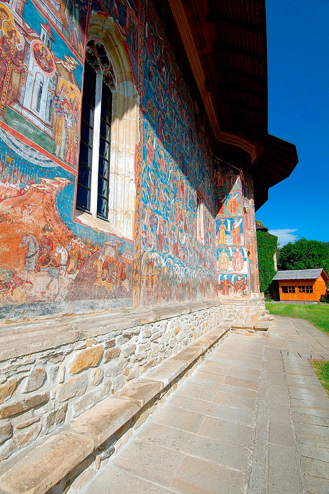 Vorone Monastery, Gura Humorului, Bukovina, Romania