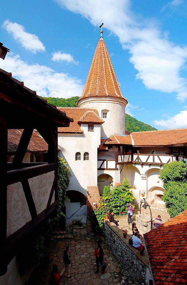 Bran Castle Castelul Bran, Count Dracula's Castle, Brasov, Wallachia, Romania