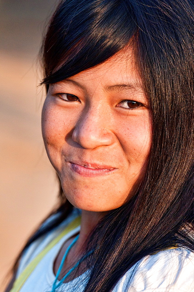 portrait of an Akha girl, Phongsaly, Laos