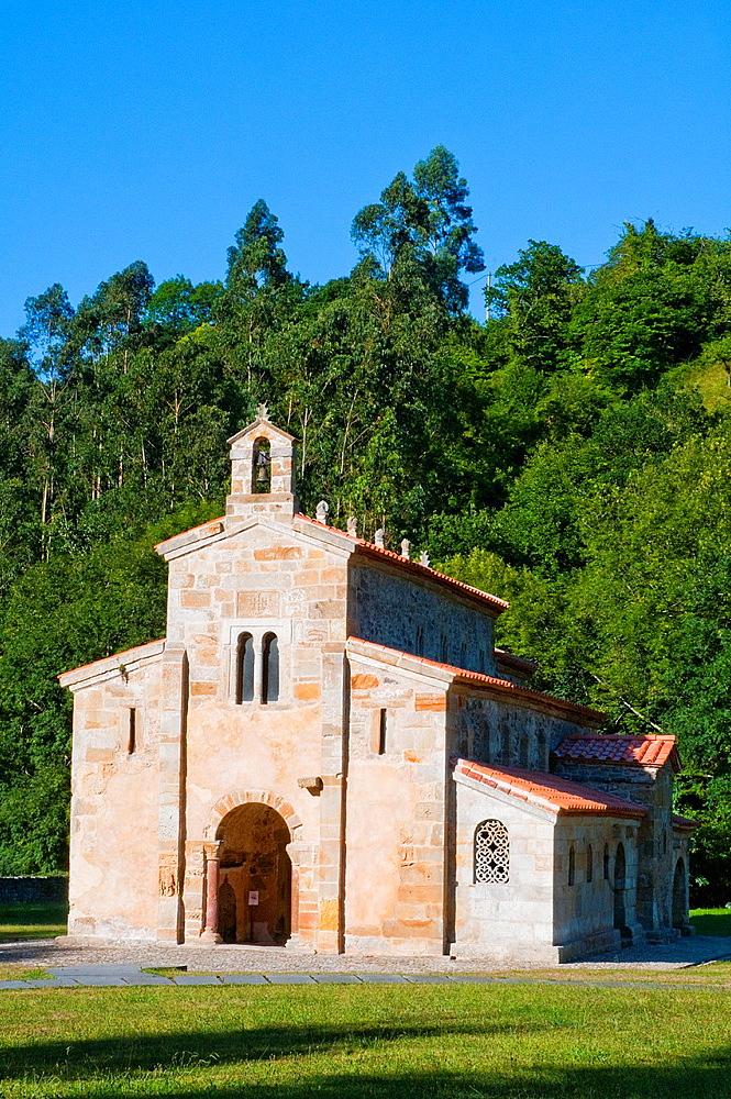 San Salvador monastery. Valdedios, Asturias, Spain.