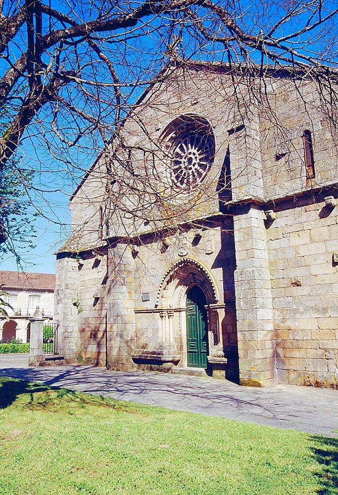 Santo Domingo convent. Ribadavia, Orense province, Galicia, Spain.