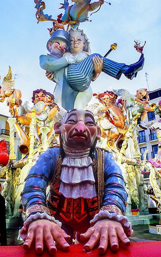 Falla of Jerusalen,Fallas festival,Valencia,Spain