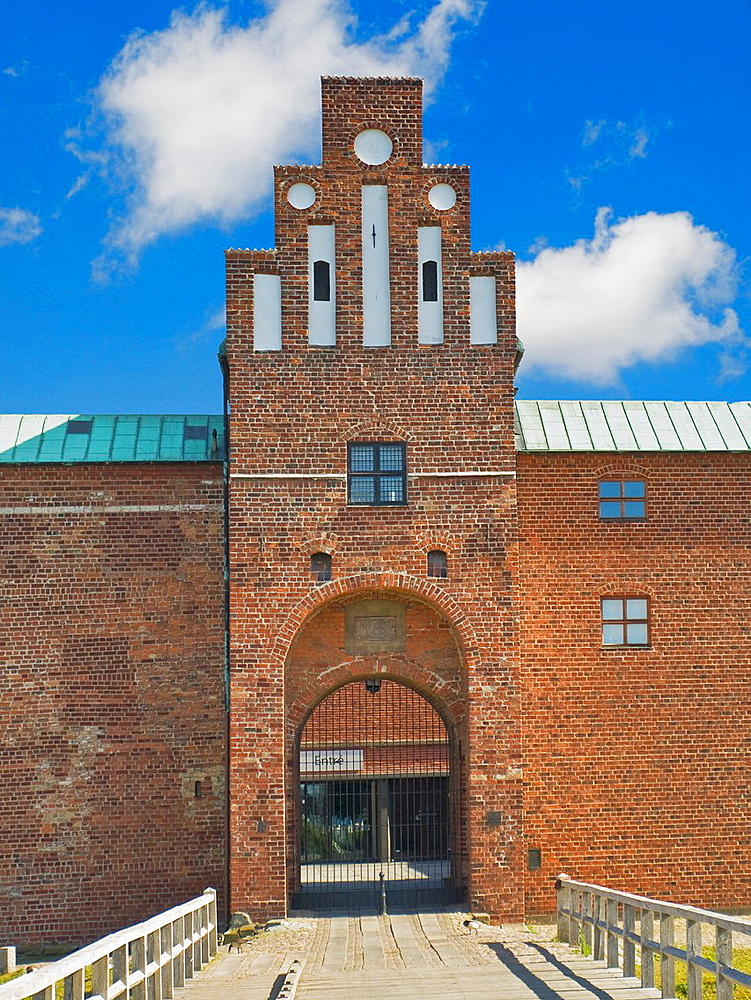 Malmohus Castle, largest Renaissance Castle of Scandinavia, Malmo Municipality, Skane County, Sweden, Europe