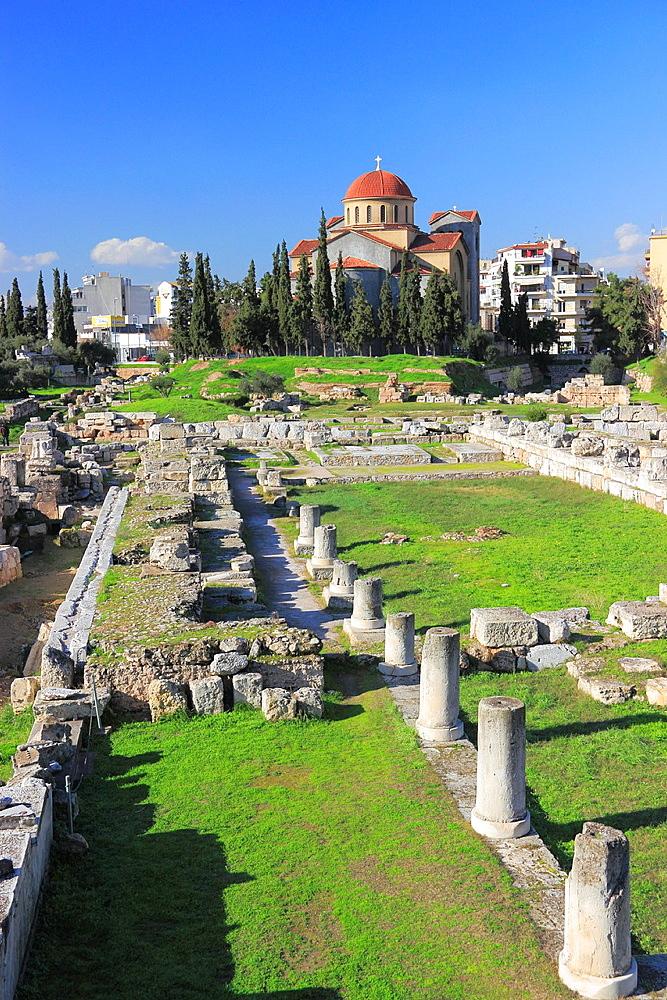 Kerameikos, Athens, Greece