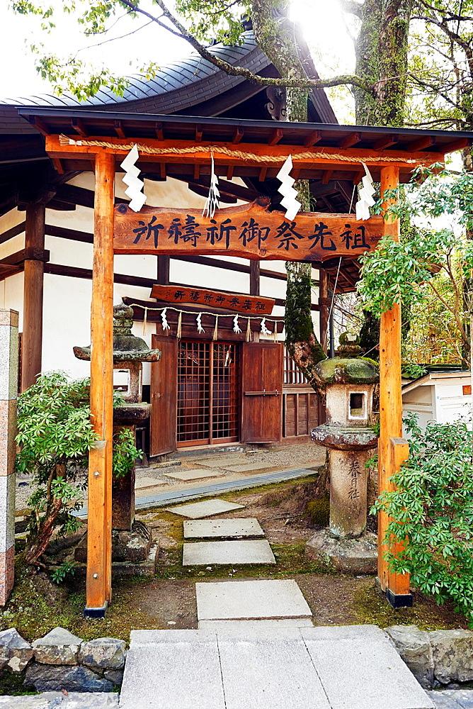 The Kasuga Taisha Shrine in Nara, Japan